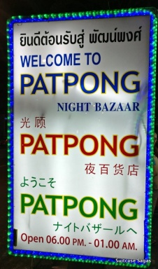 Patpong market Bangkok